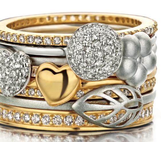 Spirit icons ringe guld sølv_findes hos Juul Smykker & Ure